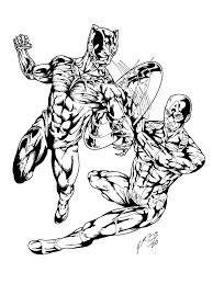 black panther captain america inks gemgfx deviantart