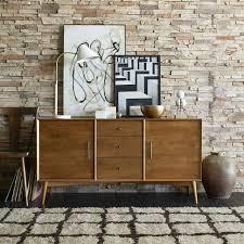 Buffet Furniture Modern by Mid Century Buffet Large West Elm