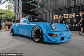 porsche widebody rwb rwb malaysia porsche 911 964 cabriolet u0027miyabi u0027 the garage kl
