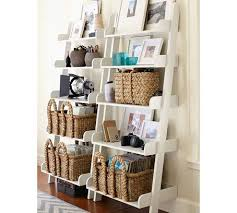 Pottery Barn Leaning Bookcase Ladder Shelf Thing On The Hunt