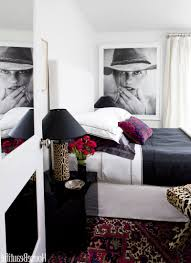 bedroom colors with black furniture light blue wall paint with