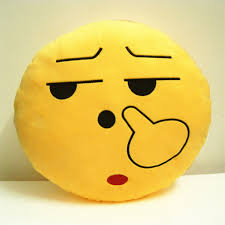 angry face funny cushion emoji soft pillow stuffed doll toy sofa