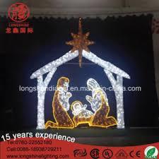 china 2017 nativity manger scene luces de navidad christmas light