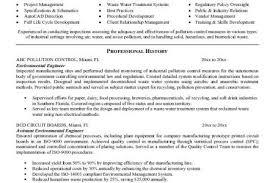 Environmental Engineer Resume Sample by Union Organizer Resume Reentrycorps