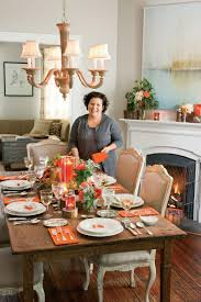Thanksgiving Table Decor Ideas by Natural Thanksgiving Table Decoration Ideas Southern Living