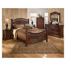 king poster bedroom set leahlyn king poster bed el dorado furniture