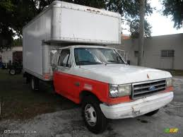 Ford F350 Truck Specs - 1990 oxford white ford f350 xlt regular cab 4x4 chassis moving