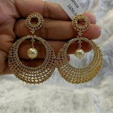 gold earrings online 1 gram gold earrings collection buy online jewellery