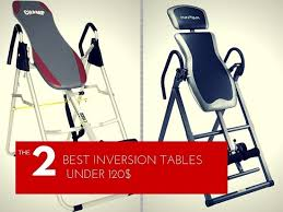 Heavy Duty Inversion Table The 2 Best Inversion Tables For Back Pain Under 100