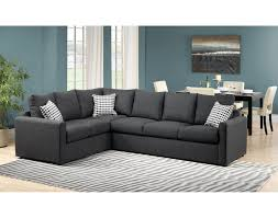 charcoal gray sectional sofa 2 athina 2 piece right facing queen sofa bed sectional charcoal