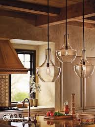 impressive glass pendant lighting for kitchen spacing pendant