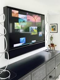 enhance any display with the edge media frame a contemporary