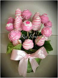 cake pops u0026 chocolate covered strawberries vase bouquet cake