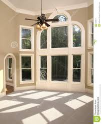 Home Inside Arch Model Design Image Luxury Model Home Living Room Arched Window Wall Royalty Free