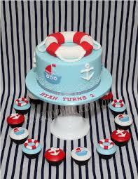 nautical cake nautical cupcakes 45 cakes cakesdecor