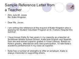 example of volunteer reference letter professional resumes