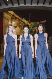 elegant a line multiway bridesmaid dress evening dress lunss couture