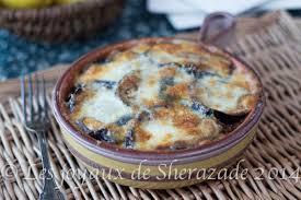 recette de cuisine alg駻ienne gratins recette de gratin d aubergines