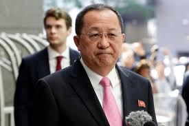 ho north korea u0027s ri yong ho a u0027polished rational u0027 foreign minister