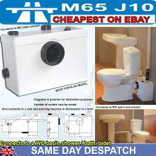 Kitchen Sink Basin Bath Shower WC Toilet Waste Macerator Pump - Kitchen sink macerator