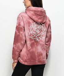 obey clothing obey mira rosa dusty tie dye hoodie zumiez