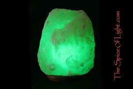 Himalayan Salt Lamp 5 Natural Healing Crystal Led Green Himalayan Salt Lamp U2013 The