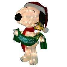 Snoopy Outdoor Christmas Decorations 107 Best Snoopy Christmas Images On Pinterest Christmas Crafts