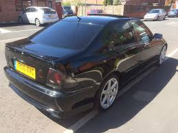 lexus car black lexus is200 2005 black fully loaded in chadderton manchester