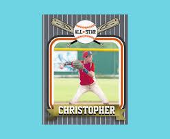 printable baseball card template baseball card template free powerpoint baseball card template