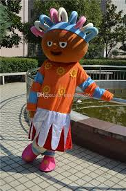 upsy daisy night garden mascot costume halloween mascot