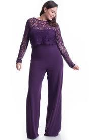 lace top jumpsuit plum lace top jumpsuit