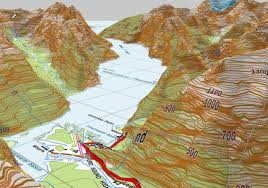Map New Zealand Freshmap Smart Mapping System New Zealand South Island And North