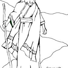 coloring page abraham and sarah free bible coloring page abraham and sara a new home free coloring