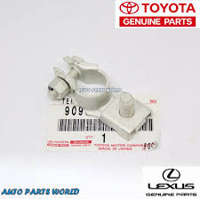 lexus toyota made new genuine oem toyota scion lexus battery negative terminal 90982