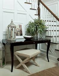 black lacquer console table beautiful foyer with wainscoting glossy black lacquer console table