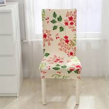 Stretch Chair Covers Aliexpress Com Buy Floral Print Chair Covers Home Dining