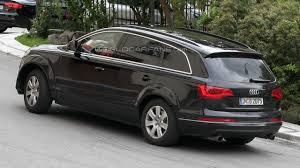 Audi Q7 2013 - audi q7 delayed for an emergency redesign report