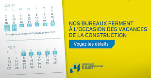 What Date Is Thanksgiving This Year 2014 Construction Holidays And Vacations Ccq