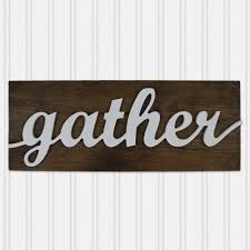housewarming gift for someone who has everything 3d gather sign farmhouse decor wood gather sign christmas