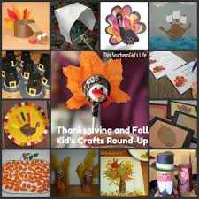 southern grace thanksgiving and fall kid u0027s craft round up