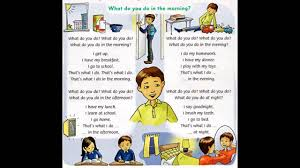 what do you do in the morning family and friends 2 unit 8