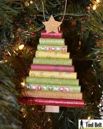 33 totally original diy ornaments that win at christmas tree