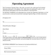 Single Member Llc Operating Agreement Template Free single member llc operating agreement template free llc operating