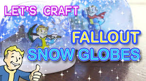 let s craft fallout snow globes d i y replica tutorial