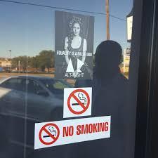spirit halloween tyler tx east texas business targeted with alt right signs kauz tv