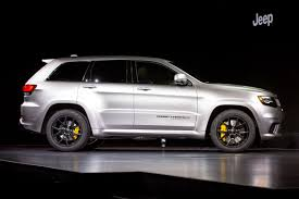 jeep trackhawk grey 2018 jeep grand cherokee trackhawk review first impressions and