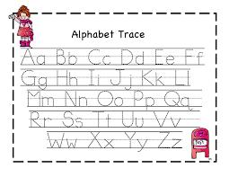 first alphabet tracers preschool printables valentine