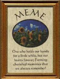Meme Grandmother Gifts - meme plaque personalized poem gift plaques bookmarks ornaments note