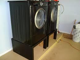 Build Washer Dryer Pedestal Washer Dryer Platform Fpudining
