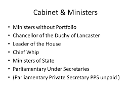Portfolio Of Cabinet Ministers Role Of The Prime Minister And Cabinet Ppt Video Online Download